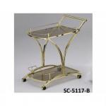 Стол сервировочный передвижной SC-5117-B (Дерево Гевея)