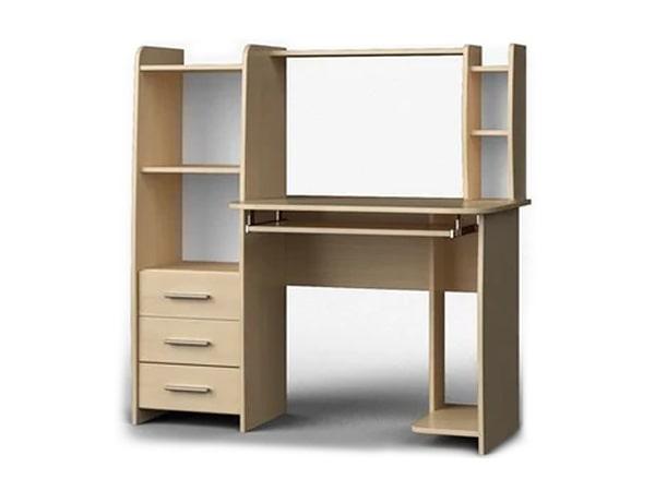 Стол компьютерный с надставкой Лира