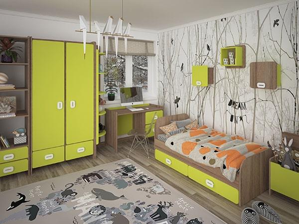 Детская комната Немо