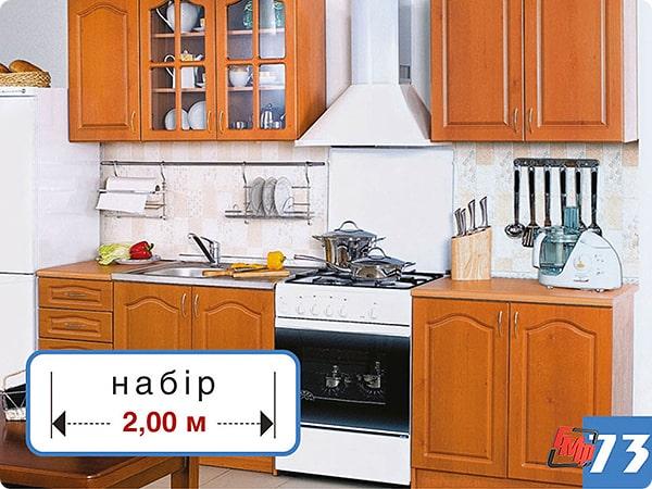 Модульная кухня Оля 2.0