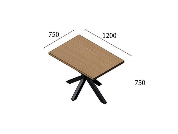 Стол обеденный Кросс