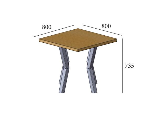 Стол обеденный Свен 4 ноги