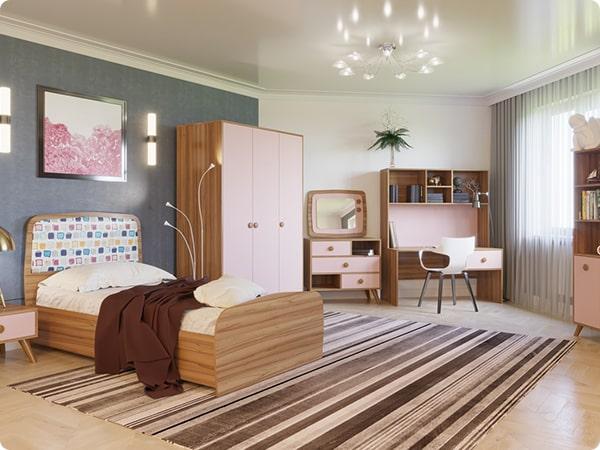 Детская комната Бьянко МДФ