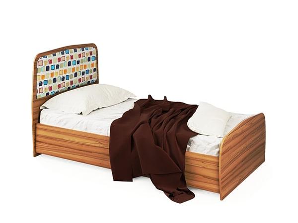 Детская комната Колибри Кровать 1-сп (б/матраса и каркаса)
