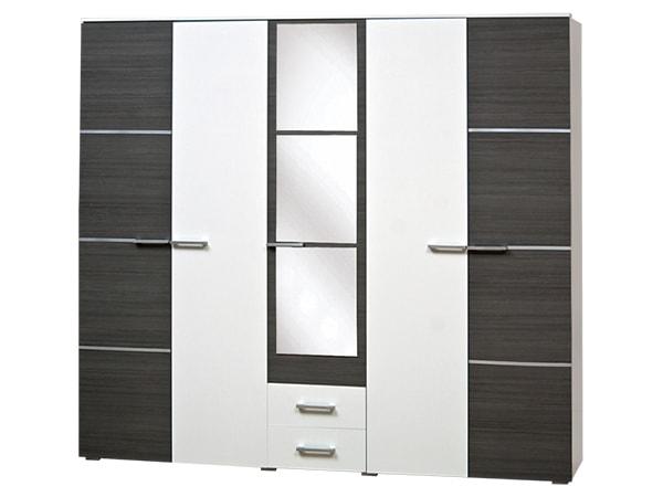 Модульная спальня Круиз Шкаф 5Д